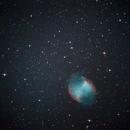 M27 Dumbbell nebula,                                mousta