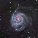 M101 Ha-LRGB,                                Oliver
