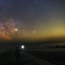 Misty Milky Way,                                Łukasz Żak