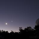 Jupiter, Moon, Venus and the Pleiades (L-R) at Perth Observatory ,                                Geoff Scott