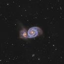 M51 LRGB,                                Vandewattyne
