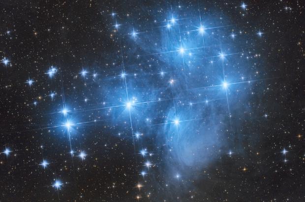 M45 - The Pleiades,                                Matt Baker