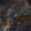 NGC6888 in HST palette,                                Gordon Haynes
