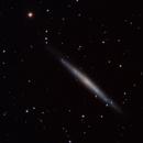 NGC 4244 Silver Needle Galaxy -- LRGB,                                Mike Mulcahy