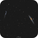 NGC 4631 and NGC 4656,                                Paweł Radomski