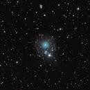 NGC6543 - Cat's eye planetary nebula in Draco,                                Stellario