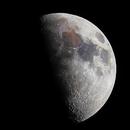 First Quarter Moon 3 JUL 2014,                                Poppa-Chris