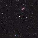 LoTr 5, NGC 4725, and several little friends,                                Ola Skarpen SkyEyE