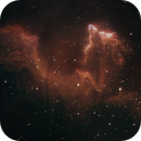 IC63 (The Ghost of Cassiopeia) in HSO narrowband,                                HaSeSky