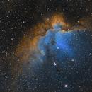 NGC7380 Wizard Nebula-SHO,                                Jerry Macon