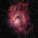 Lagoon Nebula,                                Rick Gaps