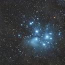 Plejaden, M45,                                johnnyderskeptiker