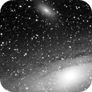 M31 Andromeda & M110 Galaxy,                                Marco Stra