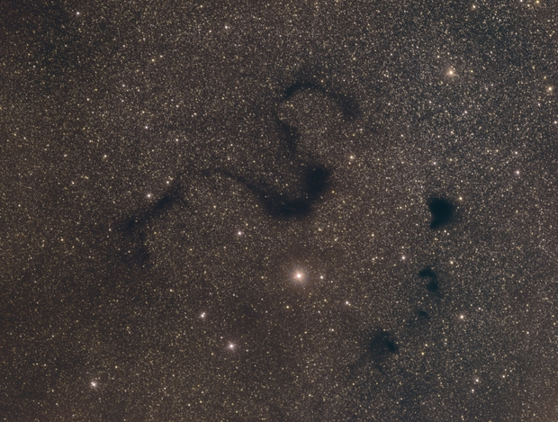 B72 (Snake Nebula) Medium Field in RGB,                                mikefulb