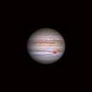 Jupiter with recent NTB outbreak,                                Stefan Nebl