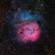 m20 (Trifid nebula) LRGB,                                *philippe Gilberton