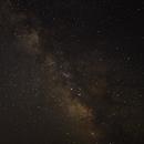 Milky Way joins Mars at Castle Rocks State Park Idaho,                                Gary Leavitt