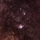 M8, M20, M21: Lagoon, Trifid, Webb's Cross,                                Russell Valentine