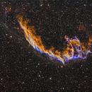 Veil Nebula (NGC6992) in HαSHO,                                Jose Carballada