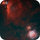 Starless Flame/Horsehead/Great Orion Nebulae,                                JD