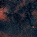 Cocoon Nebula Area, HOO,                                Stephen Garretson