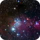 The Cone Nebula,                                HUGO S GARNICA