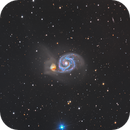 The Whirlpool Galaxy,                                Teagan Grable