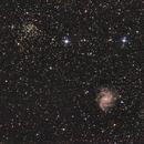 NGC6946 und NGC6939,                                MarkusTMW