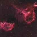 Heart and Soul Nebulae,                                Tragoolchitr Jittasaiyapan