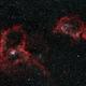 IC1805 and IC1848: The Heart and Soul Nebulae (HOO) (2019),                                Daniel Tackley