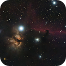 IC 434 and NGC 2024 - Horsehead and Flame,                                NightBear