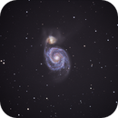 M51 Whirlpool Galaxy,                                Dean Glace