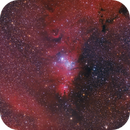 Christmas Tree Cluster NGC 2264 HaRGB,                                Stefan-Harry-Thrun