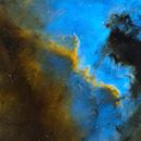 Cygnus Wall in NGC7000,                                Tim Hutchison