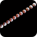 Lunar Eclipse 4/4/2015 from 3:30-6:00 PDT,                                Tom Masterson