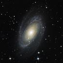 Bode Galaxy M81,                                oculum