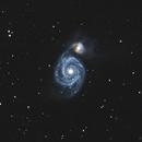 M51 - Galaxie du Tourbillon,                                Sébastien Chouet