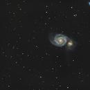 M51 whirlpool galaxy,                                Piet Vanneste