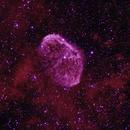NGC6888 The Crescent Nebula,                                 degrbi