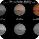 Mars on October 22, 2020 (OSC RGB and IR),                                JDJ
