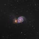 The Whirlpool Galaxy (M51),                                Chuck's Astrophot...