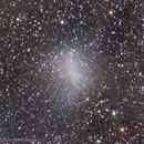 The Barnard galaxy (NGC 6822) and IFN clouds,                                Angelo F. Gambino