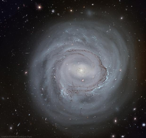 NGC 4921 (HST),                                Leo Shatz