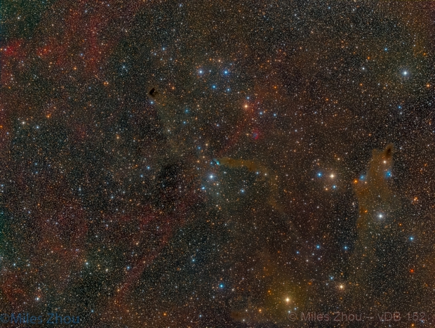 van den Bergh 152 Bright Nebula,                                Miles Zhou
