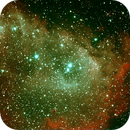 IC 1848 Soul Nebula HOO,                                Peter Bresler