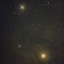 Antares, NGC 6121 & NGC 6144,                                Clay Kesterson