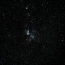 Wide field with Eta Carinae nebula in the center,                                Esteban MF