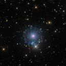 The Cat's Eye Nebula, NGC 6543, HOLRGB Image,                                Eric Coles (coles44)