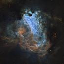 Omega Nebula in SHO,                                Ignacio Diaz Bobillo