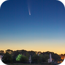 Comet Neowise rising over Westport, CT,                                Shannon Calvert